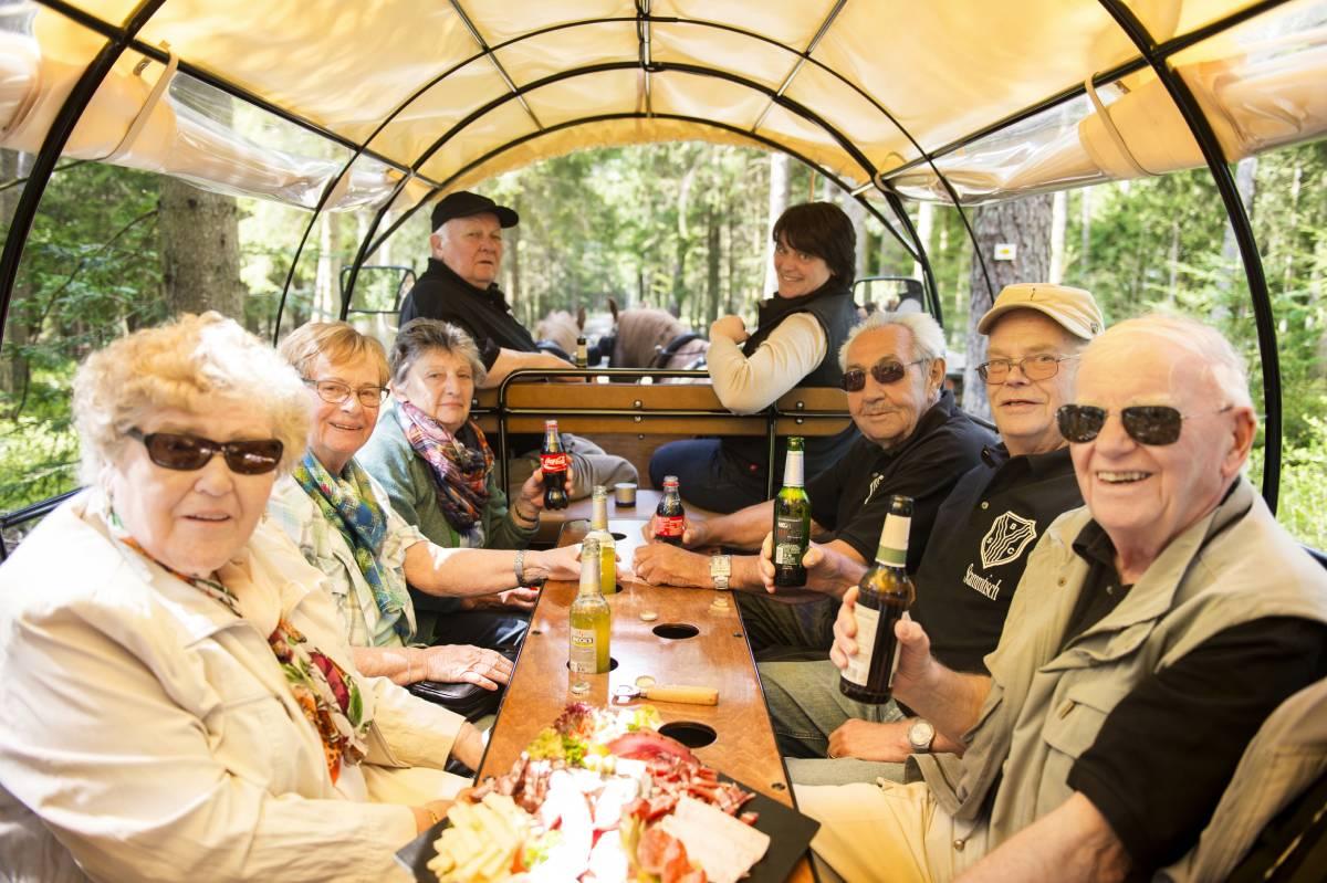 Planwagenfahrt Schwarzwald